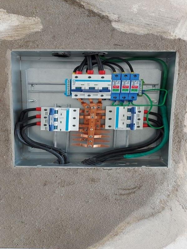 QDC Iluminação Postes