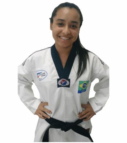 Maria Luiza Gonçalves -  Faixa Preta 1º Dan