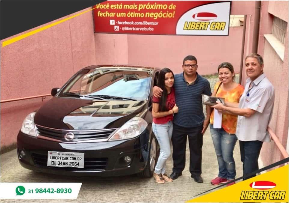 CLIENTES SATISFEITOS - Gilberto, Jacqueline e Tiffani (Nissan Tiida)