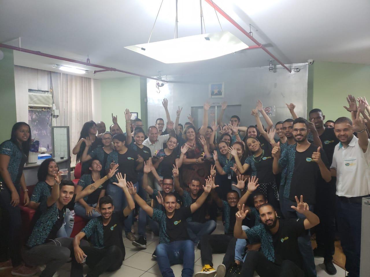 COMEMORAÇÃO - DIRETORIA E COLABORADORES - 12/02/19