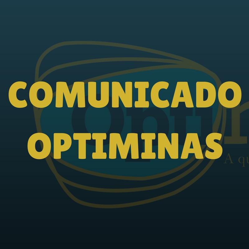COMUNICADO OPTIMINAS - PRODUTO 1.74 - 05/12/17