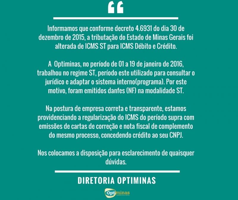 COMUNICADO IMPORTANTE AOS CLIENTES! 28/01/2016