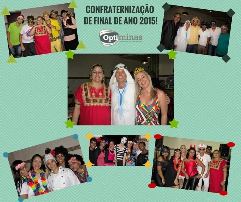 CONFRATERNIZAÇÃO DE FINAL DE ANO - 18/12/15