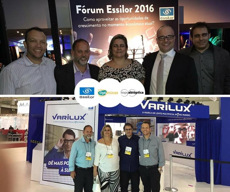 FÓRUM ESSILOR E EXPOABIÓPTICA 2016 - 14/04/2016