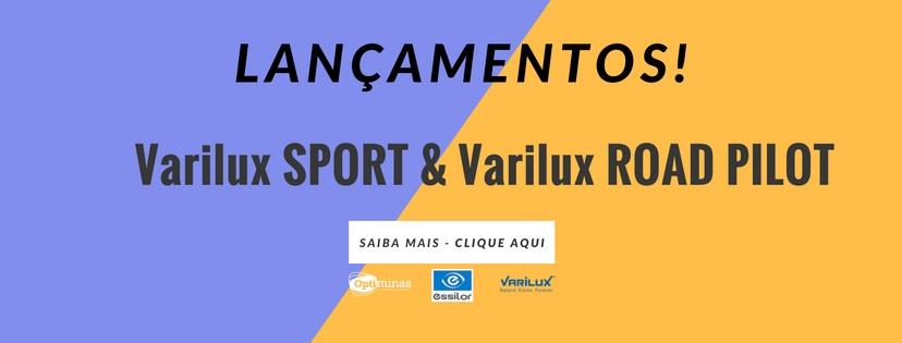 LANÇAMENTOS VARILUX SPORT E ROAD PILOT - 21/11/16