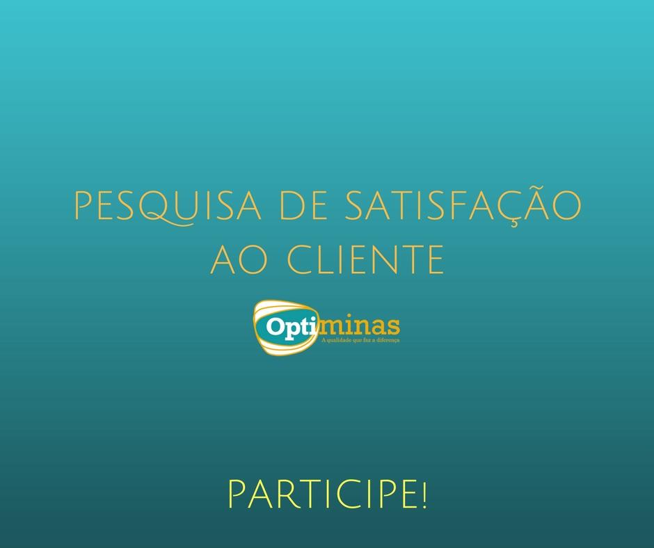 PESQUISA DE SATISFAÇÃO AO CLIENTE - 24/04/2017