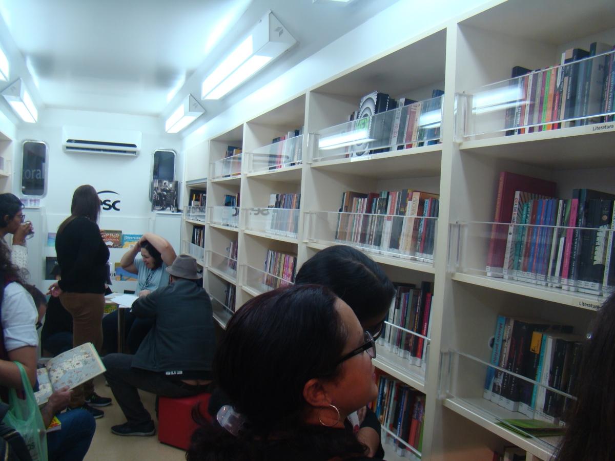 Imagem 92 do Evento COMPENDIUM na 25ª Bienal do Livro de São Paulo