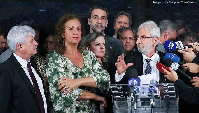 Imagem da notícia Cinco partidos anunciam voto contrário a relatório da reforma da Previdência