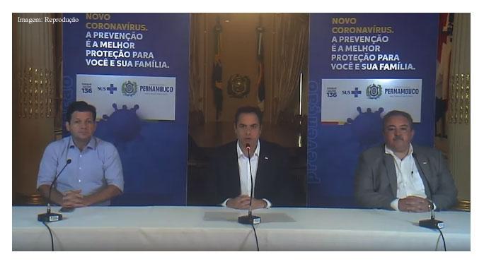 Imagem da notícia Covid-19: Governo de PE anuncia fechamento de comércio e serviços não essenciais