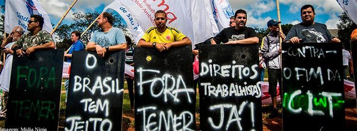Imagem da notícia OEA aceita denúncia e fará audiência sobre Reforma Trabalhista