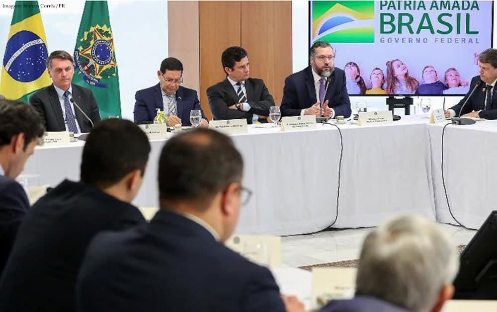 Imagem da notícia Reunião de 22 de abril: palavrões, xingamentos, ameaças e desprezo pela República