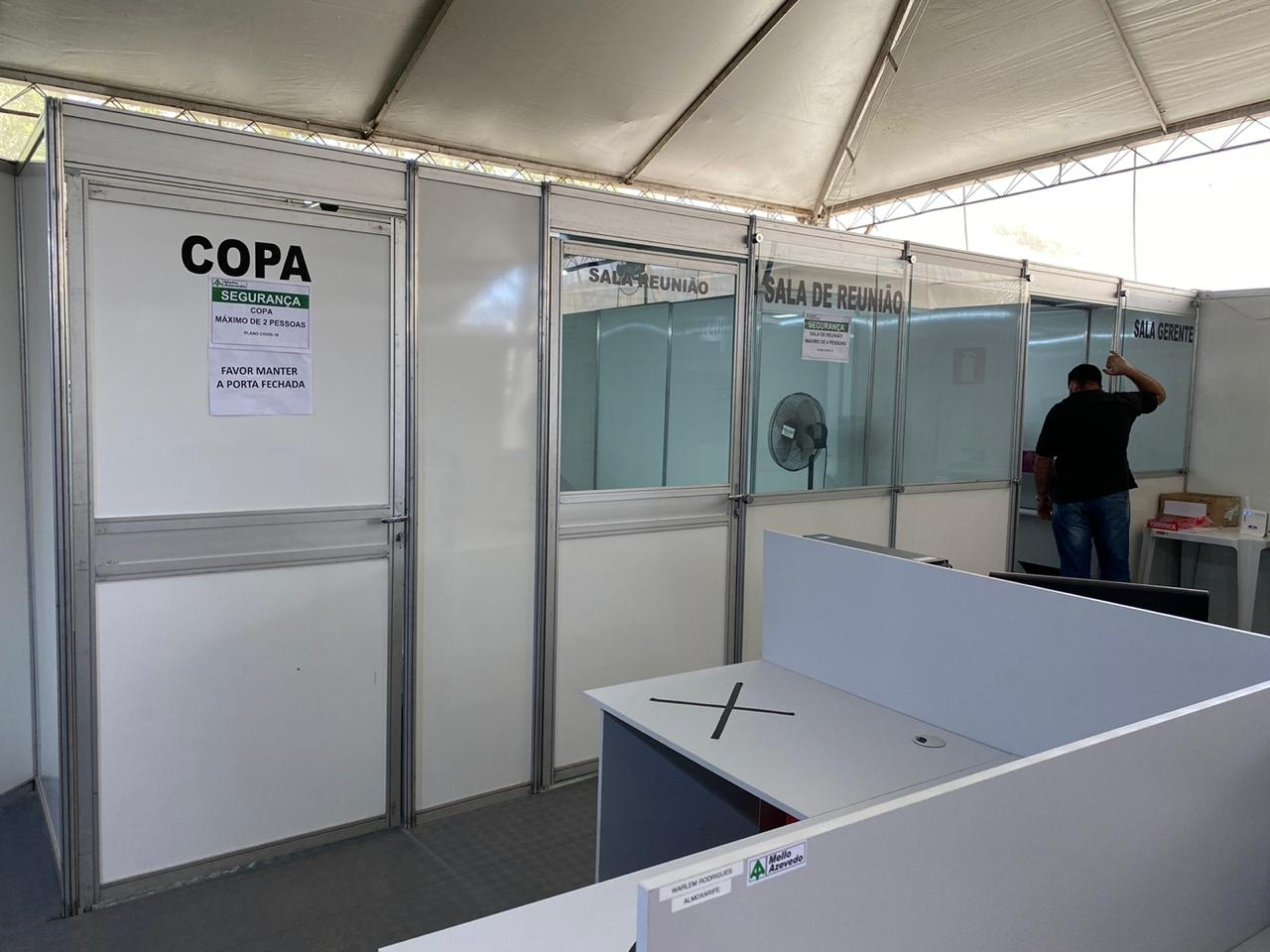 CANTEIRO DE OBRA - ESCRITÓRIO