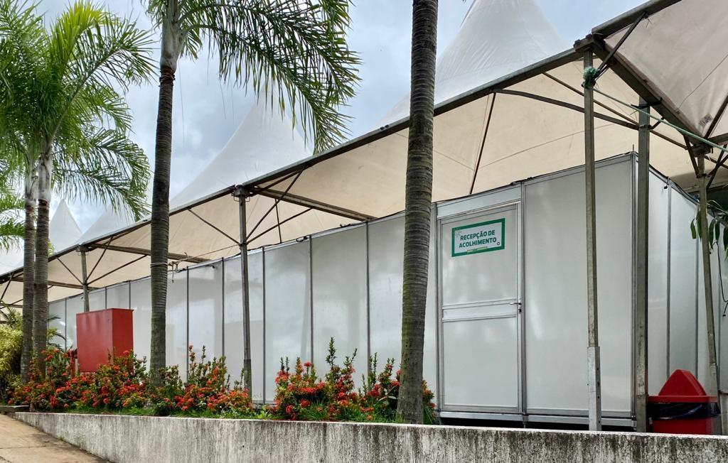 BETIM - MG / Recepção hospital de campanha