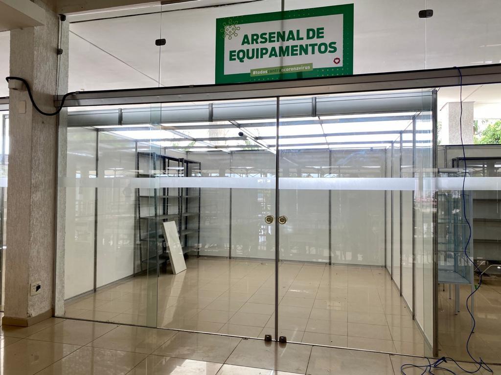 BETIM - MG / Arsenal hospital de campanha
