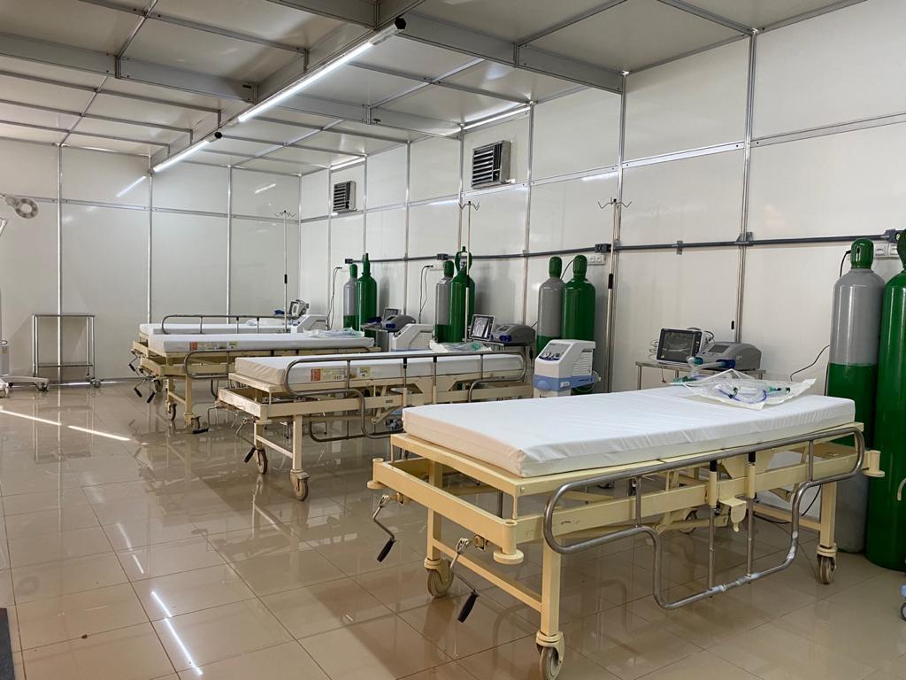 BETIM - MG / CTI hospital de campanha