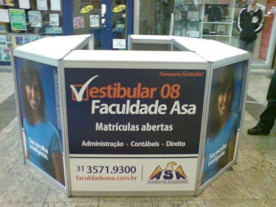 Faculdade Asa de Brumadinho - 2m x 2m