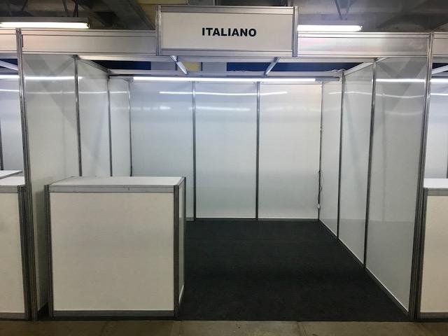 STAND 3X3 COM BALCÃO