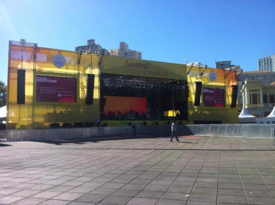 Natura Musical - Praça da Estação