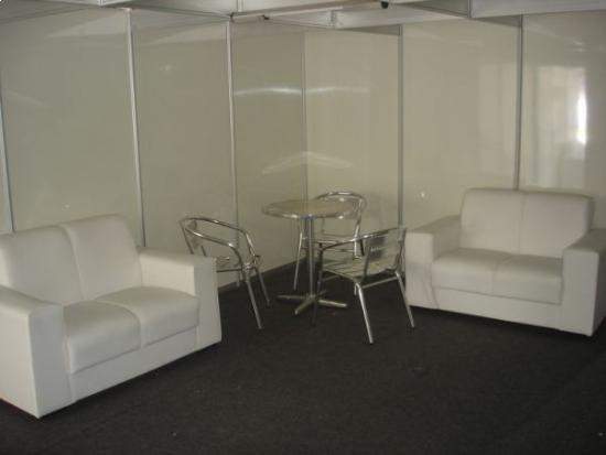 camarim interno, com mobiliário.