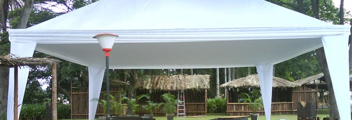 tenda 10x10 decorada