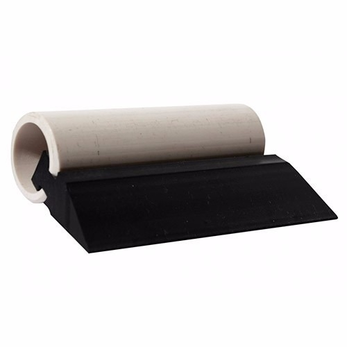 Rodo PVC Preto 10 cm
