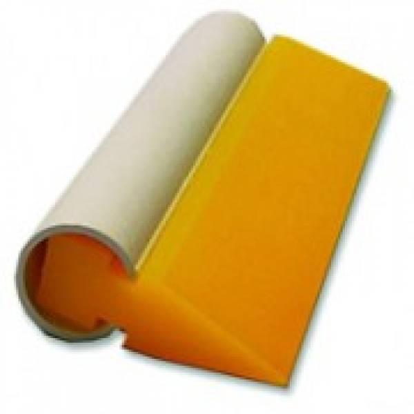 Rodo PVC Amarelo 10 cm