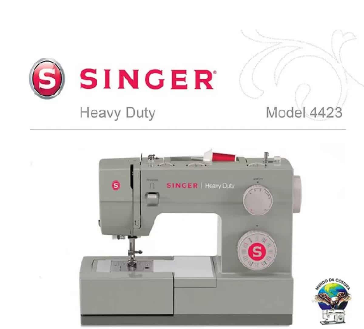 Máq. de Costura Singer 4423 Facilita PRO 22 pontos