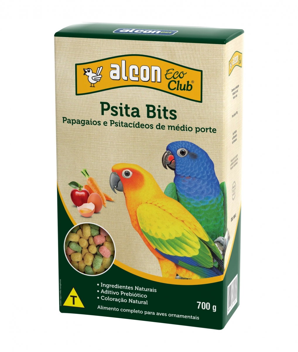 ALCON ECO CLUB PSITA BITS 700G