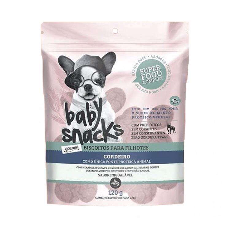 Baby Snacks Cordeiro 120G