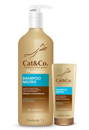 CAT & CO SHAMPOO NEUTRO