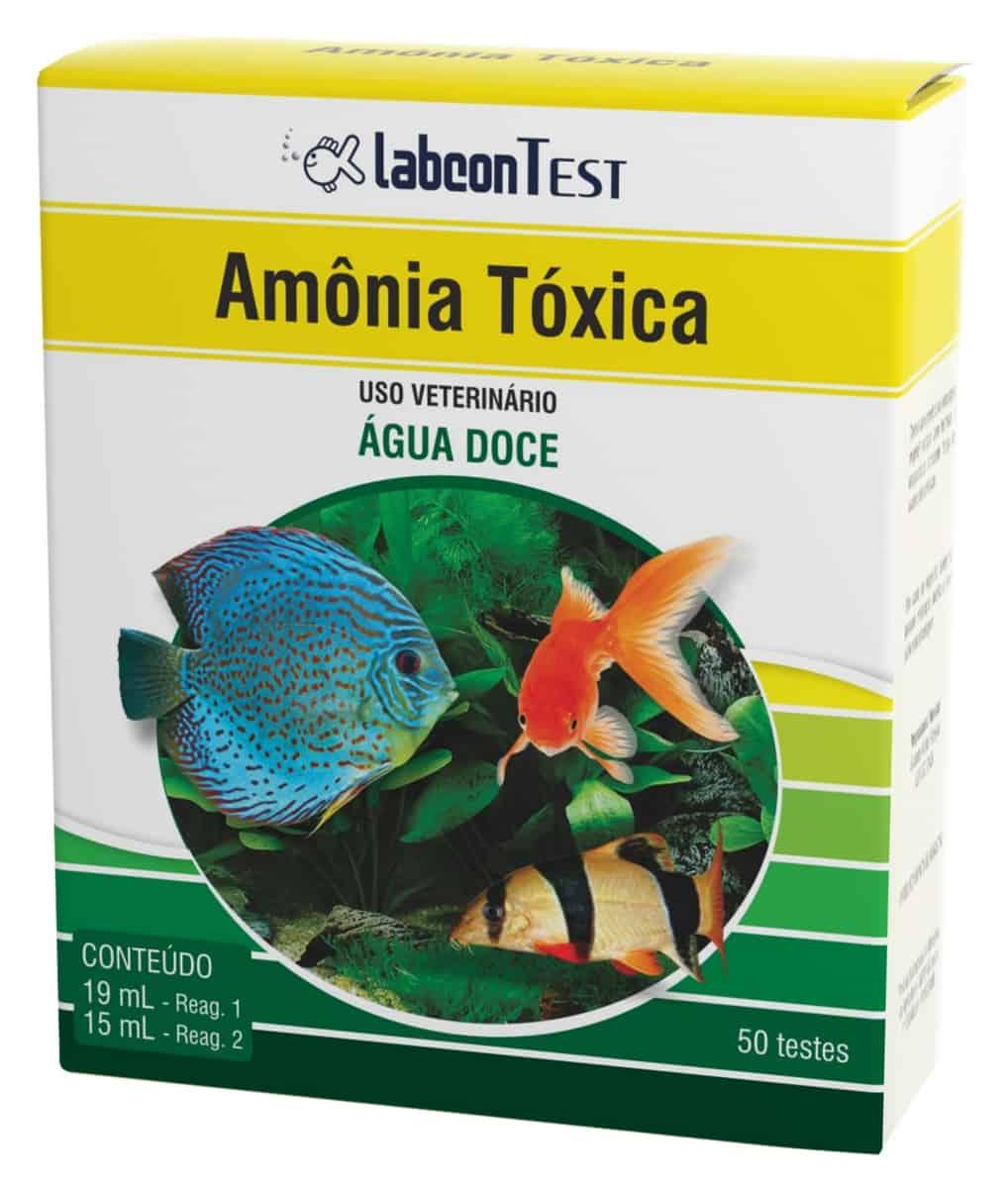 LABCON TEST AMÔNIA TOX. AGUÁ DOCE 50
