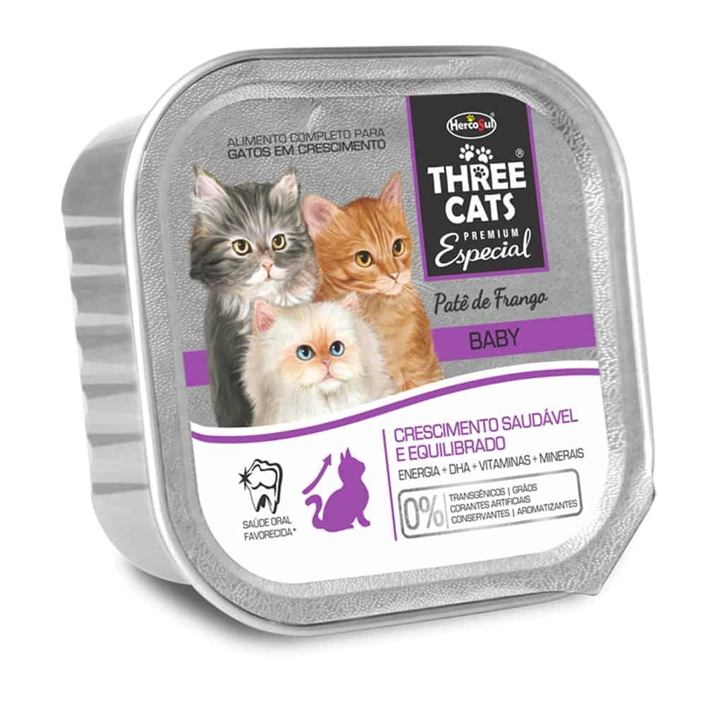 THREE CATS PATE BABY 90G
