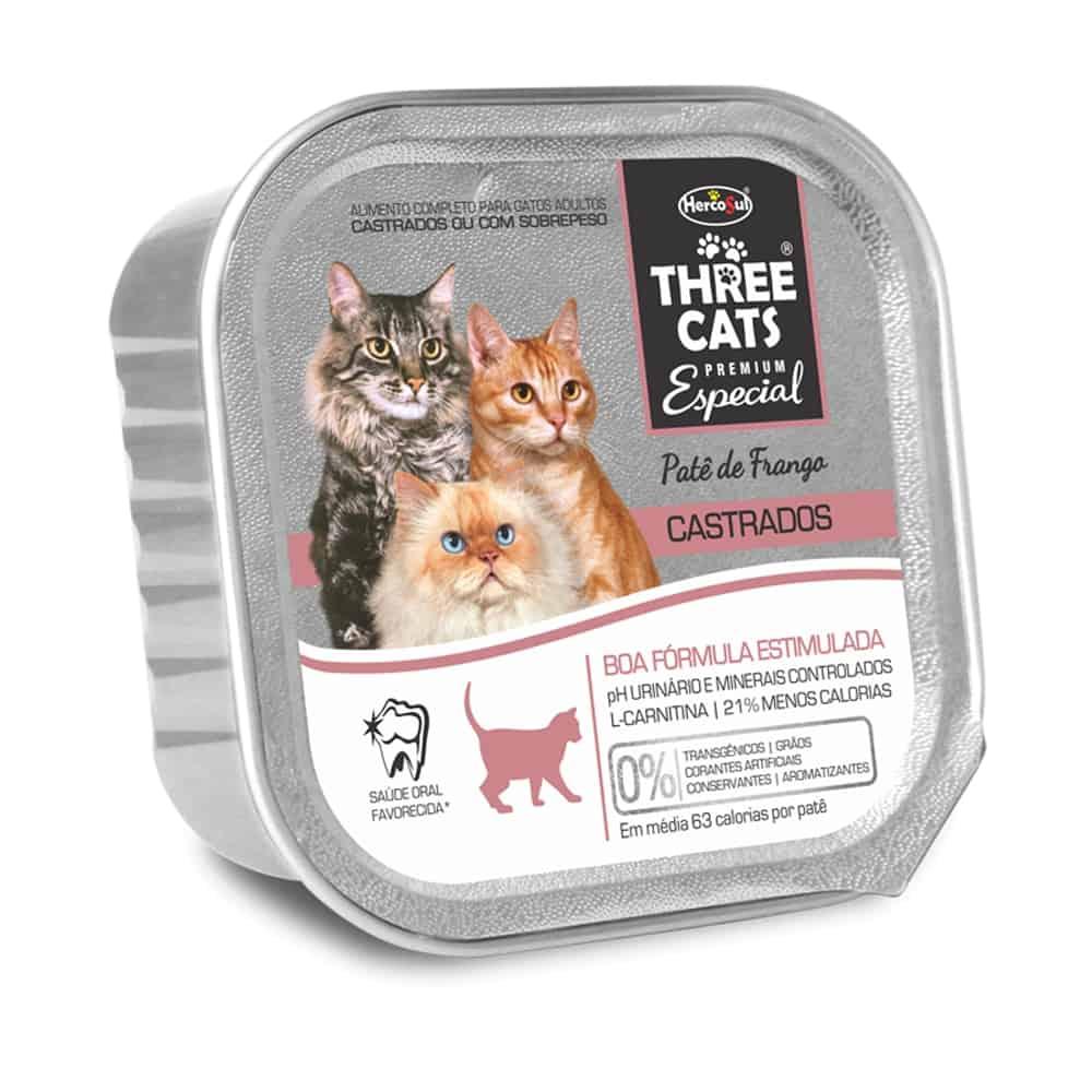 THREE CATS PATE BOA FORMA 90G