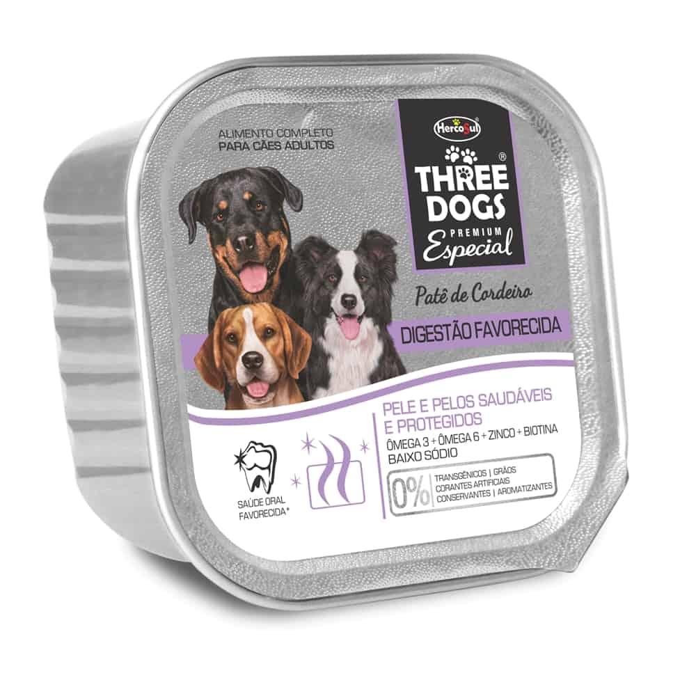 THREE DOGS PATE DIGESTÃO 150G