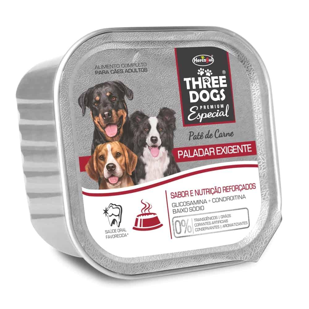 THREE DOGS PATE PALADAR 150G