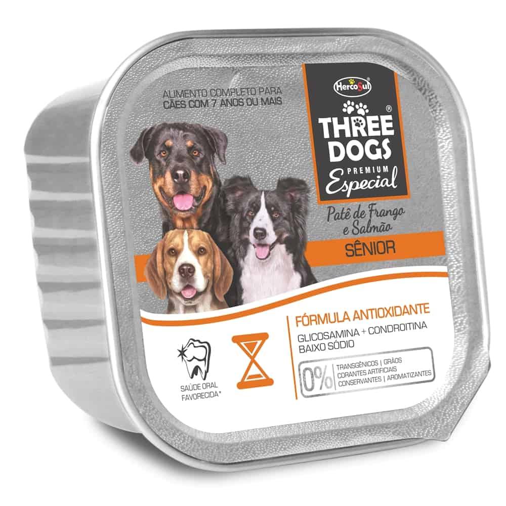 THREE DOGS PATE SÊNIOR 150G