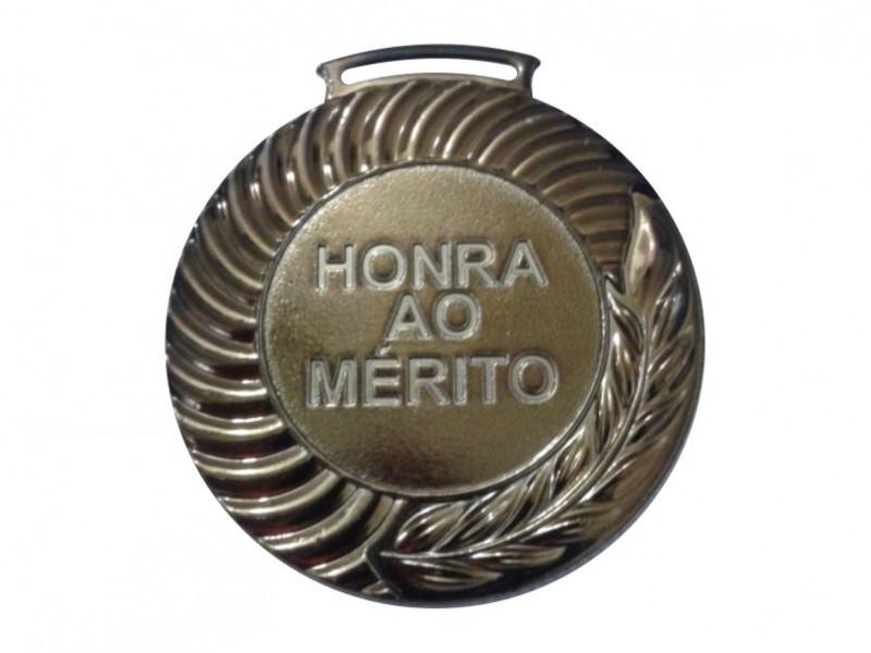 Medalha em fundição