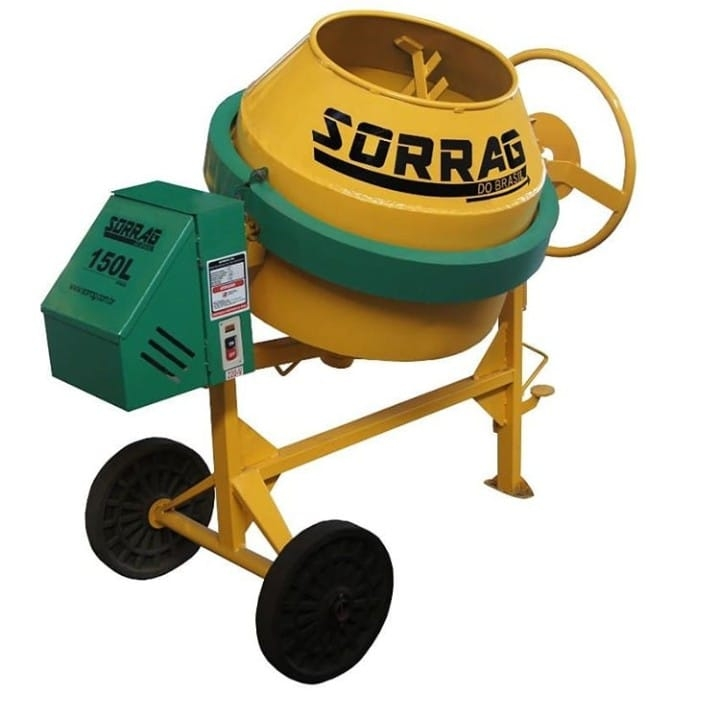 Betoneira 150 litros Sorrag