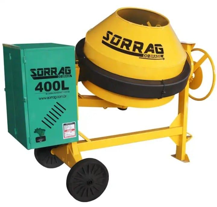 Betoneira 400 litros Sorrag - Gasolina