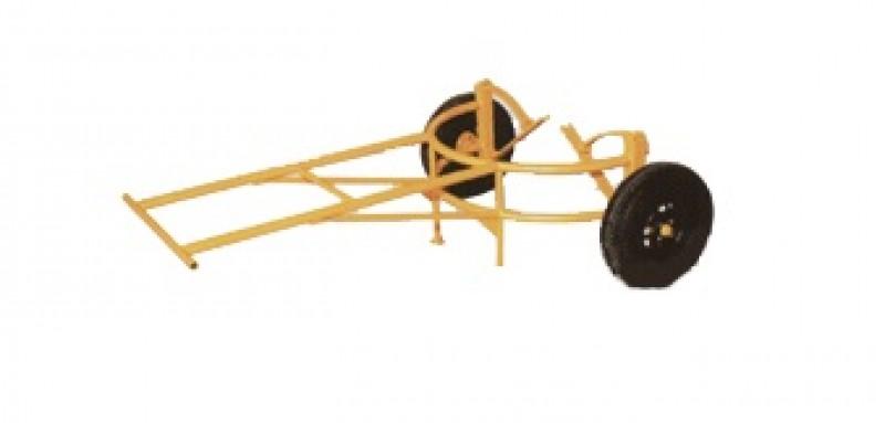 Carrinho para transporte de manilhas