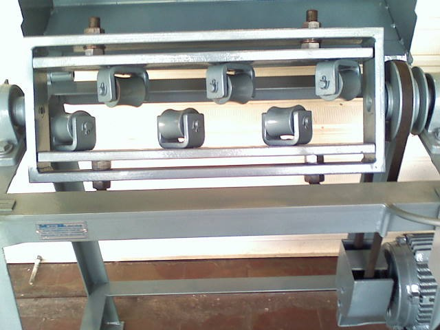 Máquina para cortar e endireitar ferro desbobinadeira, corte automático