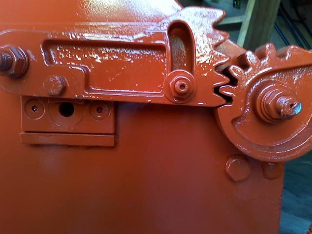 Máquina para cortar e endireitar ferro desbobinadeira, corte manual