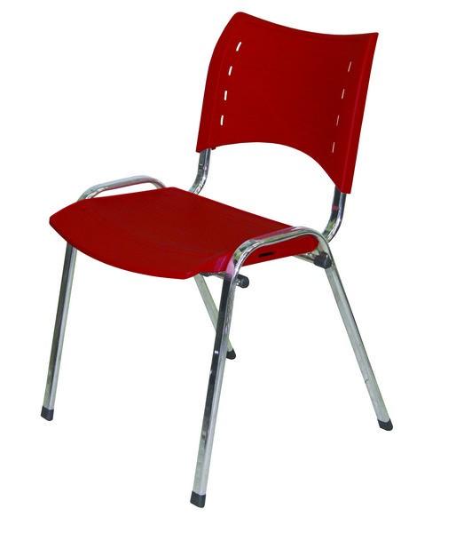 Cadeira Fixa Cromada