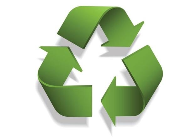 Reciclagem do material