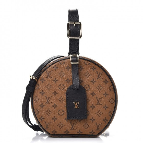 BOLSA LOUIS VUITTON BOITE SOUPLE MONOGRAM REVERSE M43510 - 2.290,00 10 X 229,00
