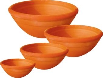 bacias em cerâmica
