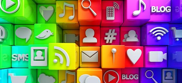 redes sociais empresa