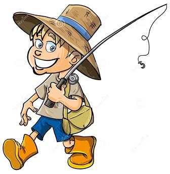 pescador-dos-desenhos-animados-com-uma-v