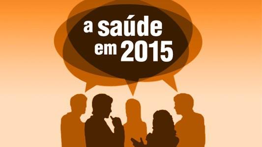 A agenda da sa�de em 2015