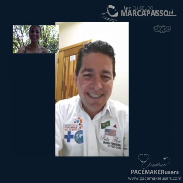 Presidente � reconhecido no Brasil pelos trabalhos de ajuda a paciente